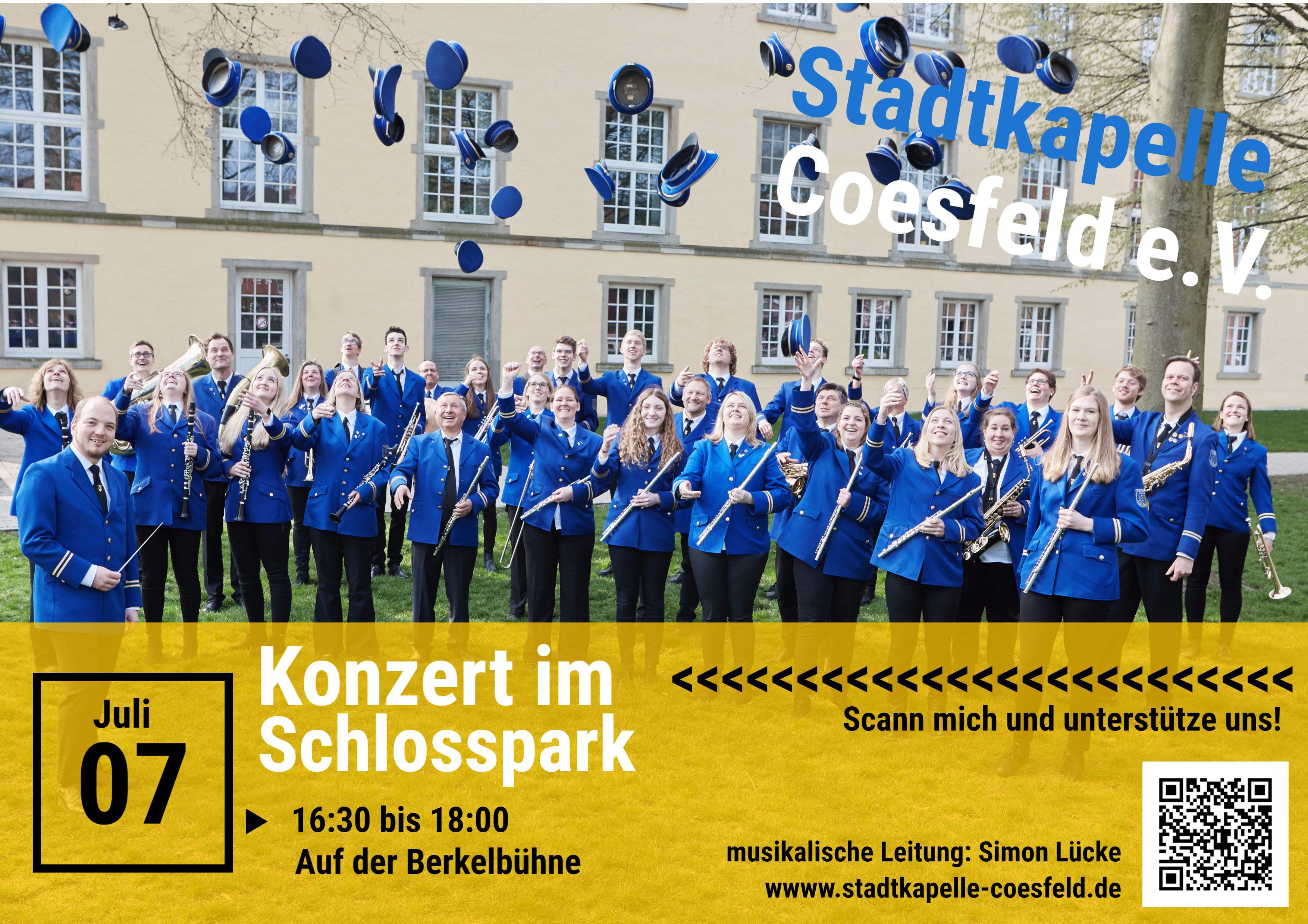 Konzert im Schlosspark am 07.07.2019